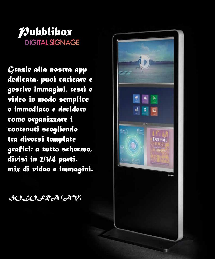 grafica pubblibox per campagna pubblicitaria